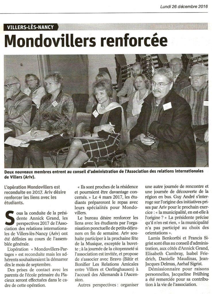 Mondovillers